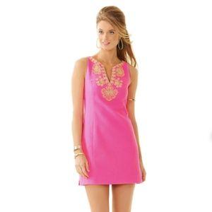 Gabby Shift Dress Pop Pink